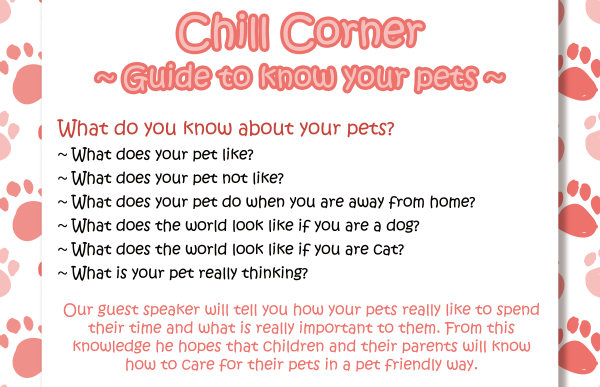 Chill Corner - Guide to know your pets